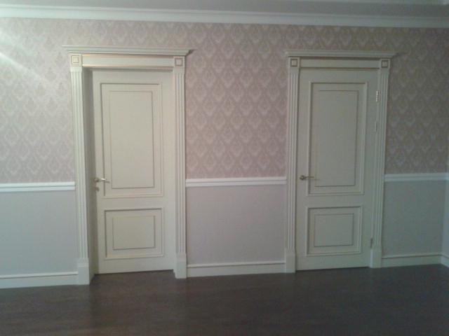 Покраска дверей фото