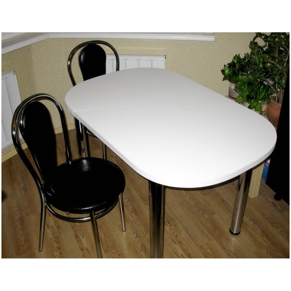 Стол белый овальный: от 125,00 руб. - столы для кухни, заказ.