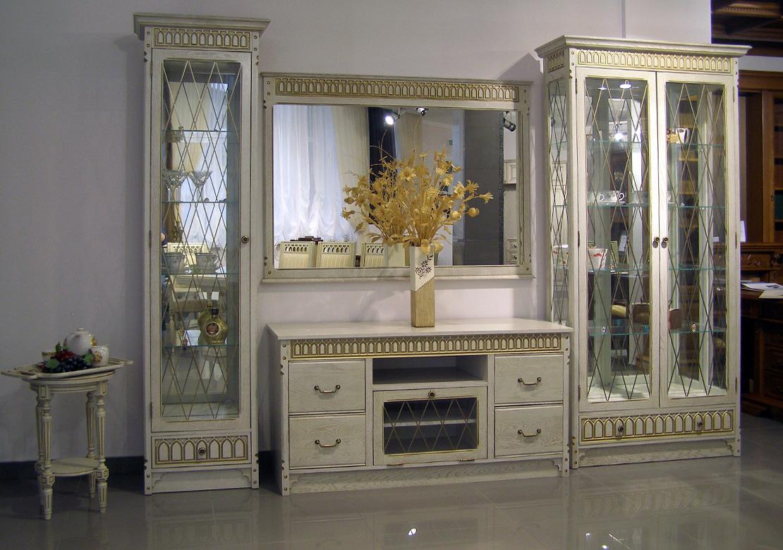 Мебель Для Гостиной Массив Классика