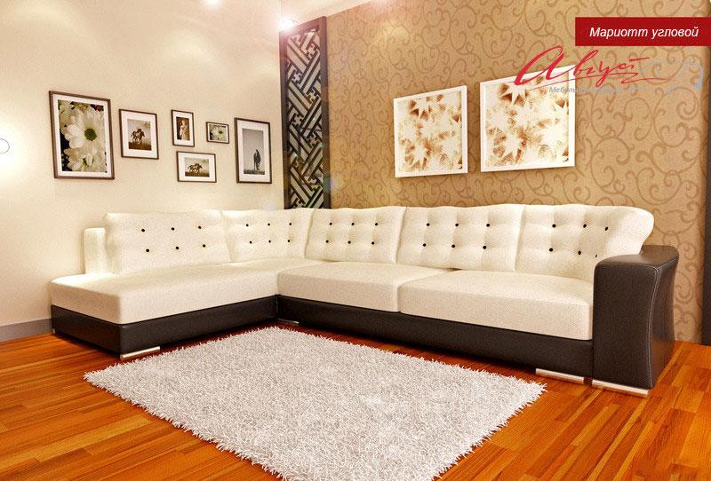 Дизайн дивана в зал